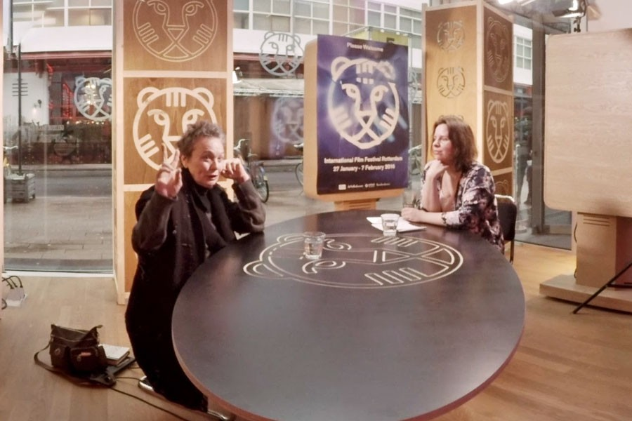 IFFR – Heart of a Dog, 360° interview