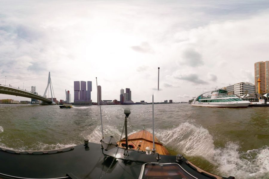 From Rotterdam with love: Take the watertaxi in Rotterdam