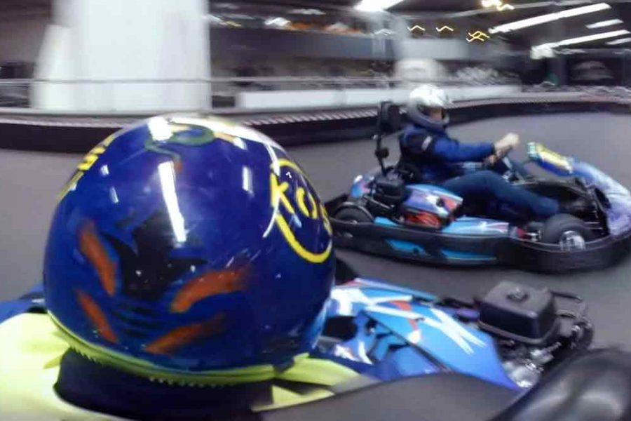 Go-Kart Racing in 360°