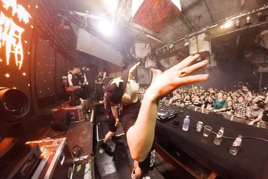 Cookie Monsta en FuntCase tijdens Subway XL 11